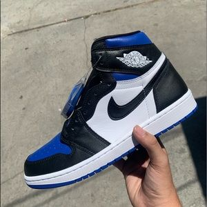 "Air Jordan 1 ""Royal Toe"" Size 9.5"